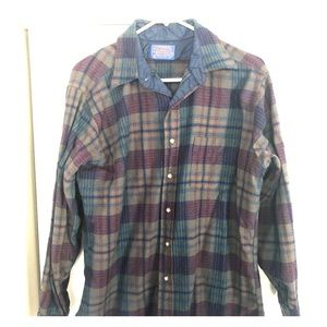 Pendleton Flannel men's size medium